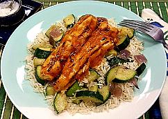 Grilled Hawaiian Chicken Skewer