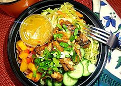 Jerk Chicken Brown Rice Bowl