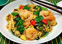 Thaï Shrimp Fried Rice