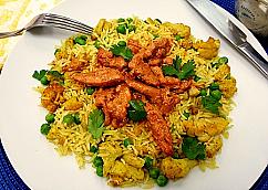 Sautéed Tandoori Chicken