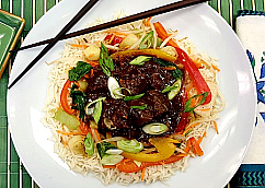 Braised Ginger Beef