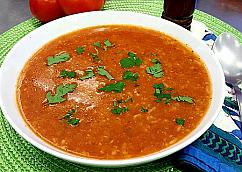 Provençale Tomato and Rice Soup