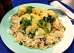 Fish Bake with Cheese Sauce